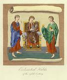 Ecclesiastical habits of the 8th Century