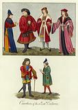 Courtiers of the 15th and 16th Centuries