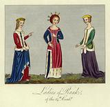 Ladies of rank of the 14th Century