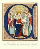 The Coronation of King Edward I of England, 1274