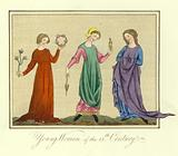 Young women of the 13th Century