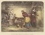 Royalists seeking refuge in the house of a Puritan