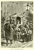 Arrest of Charles Edward in Paris