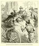 Assassination of Henry IV of France by Ravaillac