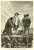 Charles I delivers his George to Bishop Juxon