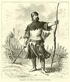 Archer of the twelfth century