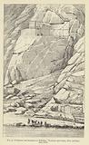 Sculptures and inscription at Behistun