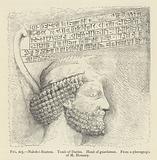 Naksh-i-Rustem, Tomb of Darius, Head of guardsman