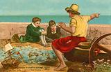 The boyhood of Sir Walter Raleigh