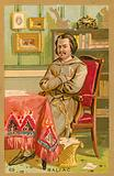 Honore de Balzac, French novelist and playwright