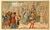 Joan of Arc entering Orleans, 1429