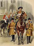 Proclaiming George V King of England, 1910