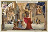 Scene from Faust, an opera by Charles Gounod