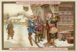 Christmas Eve in England, 18th Century