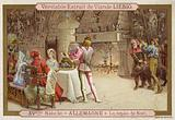 Christmas feast, Germany, 15th Century