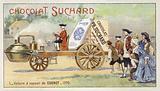 Nicolas-Joseph Cugnot's steam-powered car, 1770