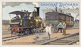 Shunting locomotive, 1875