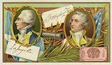 Gilbert du Motier, Marquis de Lafayette, and Geoge Washington