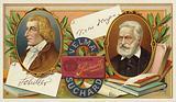 Friedrich Schiller and Victor Hugo