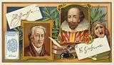 Johann Wolfgang von Goethe and Willliam Shakespeare