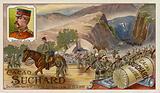 General Yule's troops at Jonders Pass, Boer War, 22-25 October 1899