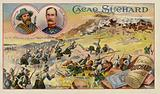Generals Cronje and Methuen and the Battle of Magersfontein, Boer War, 11 December 1899