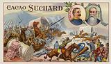 Generals French and Kock and the Battle of Elandslaagte, Boer War, 21 October 1899