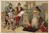 Johannes Gutenberg, German, engraver, inventor and printer