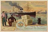 Transatlantic postal service