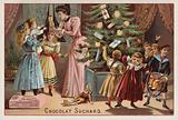 Suchard chocolates at Christmas