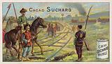 Severed railway between Tianjin and Beijing, Boxer Rebellion, 1900