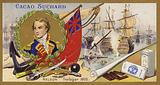 Admiral Lord Nelson and the Battle of Trafalgar, 1805