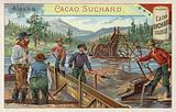Gold prospectors, Alaska