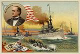 William McKinley, President of the United States, Spanish-American War, 1898