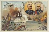 Commodore George Dewey and Admiral Patricio Montojo, Battle of Manila Bay, Spanish-American War, 1 May 1898