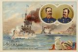 General Manuel Macias and Commodore Winfield Scott Schley, San Juan de Puerto Rico …