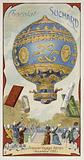 First manned balloon flight, November 1783
