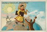 Advertisement for Grootes cocoa and chocolate