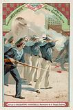 The affair of the Gendarmerie, Chania, Crete, Greco-Turkish War, February 1897