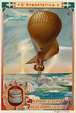 Salomon August Andree's attempt to fly to the North Pole by balloon, 1897