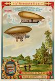 Dirigible airships of Haenlein (1872) and Renard and Krebs (1885)