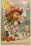 Trade card for Liebig meat extract