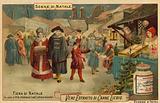 Christmas fair in a German city