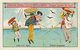 Dirigible balloons: fishing