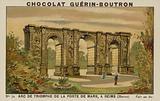 Arc de Triomphe de la Porte de Mars, a Reims, Marne
