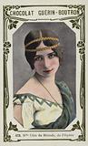 Mademoiselle Cleo de Merode, de l'Opera