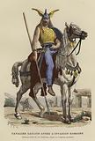 Gaulish cavalryman after the Roman invasion