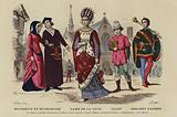 French costumes of the 13th Century