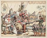 King Richard I in Palestine
