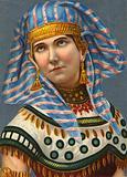 Woman in unidentified national dress